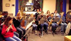 Unser Jugendorchester im Jahr 2005