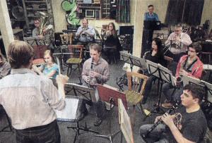 Im ehemaligen Pfarrheim von St. Nikolaus proben die Musiker des MV Eintracht seit fast 50 Jahren • Foto: Mangold